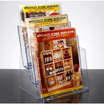 3-Tier Acrylic Literature Holder