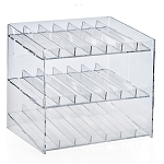 3-tiered 21 Compartment Cosmetic Display