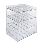 4-tiered 16 Compartment Cosmetic Display