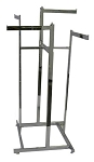 4-Way Lo Capacity Rack - Straight Arms