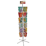 48 Pocket Literature Holder Floor Stand