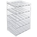 5-tiered 20 Compartment Cosmetic Display