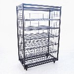 6-Shelf Heavy Duty Bread Rack