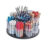 9 Cup Counter Cosmetic Organizer with Dispenser