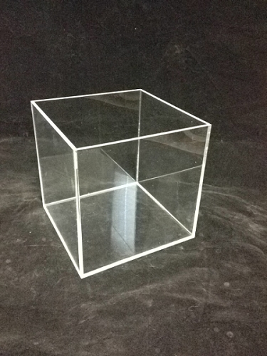 Square Acrylic Display Bin - 8 Inch