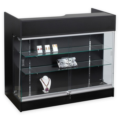 Ledgetop Counter With Showcase - Color Choices