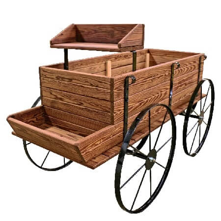 Mini WESTERN Wagon Display