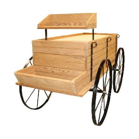 WESTERN Wagon Display