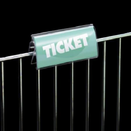 Wire Basket Amp Shelf Channel Sign Holder Sign Protectors
