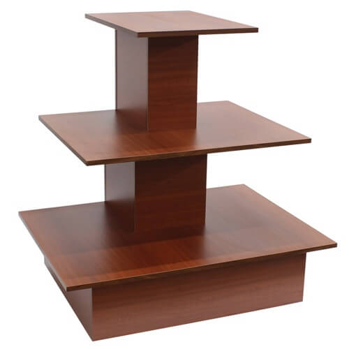 Cherry wooden space saving wall table bakery wood