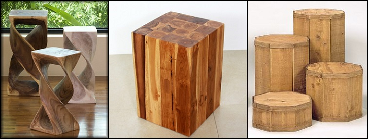 Wooden Pedestals Category