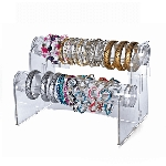 Acrylic Counter Bracelet Bar - 2 Tiers