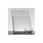 Acrylic Multi-Sheet Holder w/ Business Card