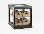 Black Bamboo Bread Container