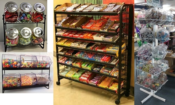 Candy Rack Displays