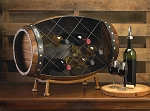 Barrel Wine Bottle Holder