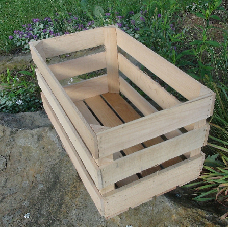 Wood Corn Crates - 2ct