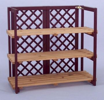 Countertop Shelf : Home > Wood Displays > Shelves & Stands > Countertop Folding She...