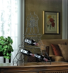 Eiffel Tower Counter Wine Rack