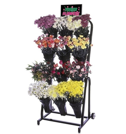 Floral Cart - 12 VASE