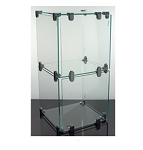 Glass Cube Countertop Display