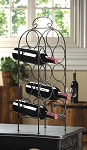 Metal Wine Counter Rack
