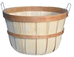 Half Bushel Round Bottom Baskets - 12ct