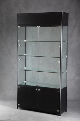 Display Shelves For Collectibles >> Lighted Tower Display Case | Glass Display | Lighted Display