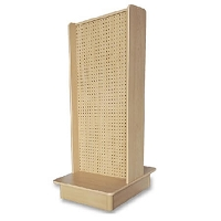 Maple 2-Sided Streamline Pegboard Display
