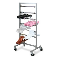Mobile Hanger 6 Tier Transfer Rack