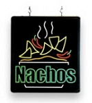 Nachos Ultra-Bright Sign