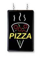 pizza sign light display snack bar advertising signs. Black Bedroom Furniture Sets. Home Design Ideas