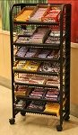 Premium Candy Display Racks - 24in