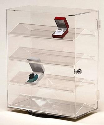 Revolving Acrylic Countertop Case