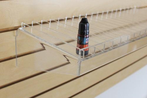 Medium Wide Slot E-Cig Shelf