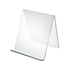 Acrylic Easel With Lip - 8in - 10ct