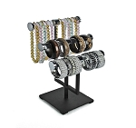 Adjustable Acrylic Chrome Jewelry Display