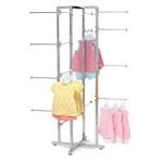 Foldable Apparel Rack