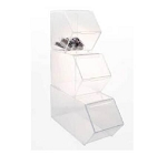 Stackable Bulk Bins - 3ct