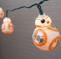 BB-8 Droid Star Wars String Lights 11.5ft