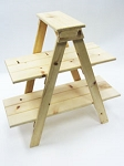 Wooden Ladder Display