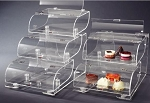 Triple Tier Bakery Display Case