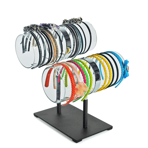 HEADBAND Counter Display - 2 Tiers