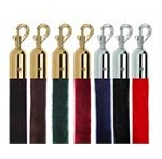 Velour Hanging Ropes for Classic Stanchions