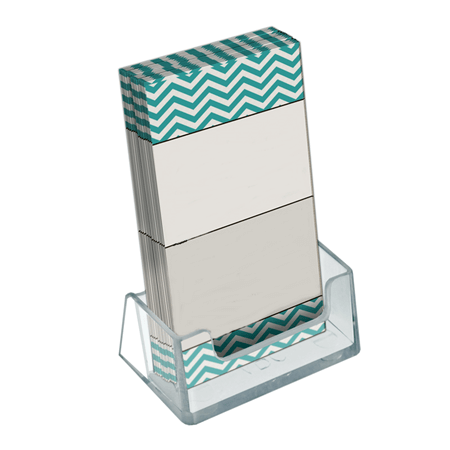 Vertical Gift Card Holder Acrylic Business Card