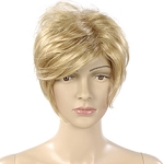 Female Blonde Short Length Wig