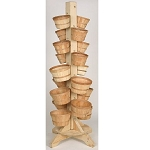 18 Basket Revolving Rack - Color Choice