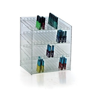 4-tiered 48 Compartment Cosmetic Display