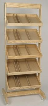 5 Shelf - Crate Rack - Color Choice