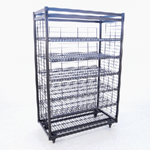 6 Shelf Heavy Duty Bread Rack Bread Display Large Bakery